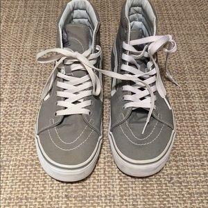 Grey Hightop Vans